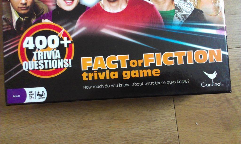 Trivia Board Game Theory Trivia Board Game
