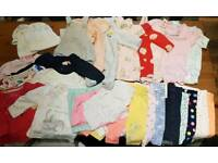 Girls Newborn Baby Clothes Bundle Outfits