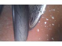 Pirell diablo front race tyre 110/70/17