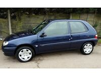 Cheap Citroen SAXO, 1 Years MOT, Low Milage, only 2 owners.