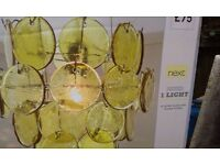 NEXT CEILING LIGHT FITTING BRAND NEW, BOXED