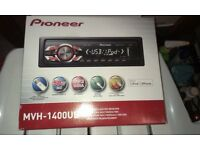 PIONEER MVH-1400UB CAR STEREO