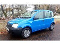 Fiat Panda 05, 1.1 full mot, 1 owner. Fiesta Micra Corsa Clio 106 107 207 c3 Fabia Polo Golf A2 c2