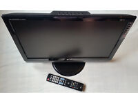 "LG M228WDP 22"" Widescreen, LCD TV with Freeview/ PC Monitor, HD ready, remote control"