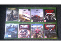 Xbox one games x8.Not ps3 ps4 xbox 360 pc