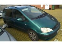 NEW MOT, NEW BATTERY, FORD GALAXY 1.9 TDI AUTO-TIPTRONIC DIESEL 7 SEATER VW SHARAN ALHAMBRA
