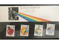 Royal Mail Mint - Sir Isaac Newton - Special Edition Collectors Stamps