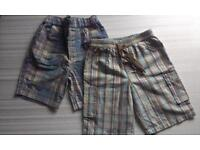 2 pairs of summer shorts for 12-18mths