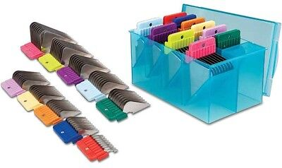 - Oster Stainless Steel Guide Comb Attachment Kit, 10 pc Set W/Case Fit A5/76/AGC2