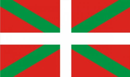 "BASQUE FLAG 18"" X 12"" for boats treehouses caravans boat caravan flags SPAIN"