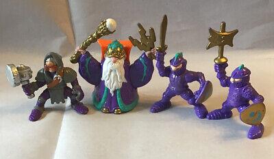 Fisher Price Great Adventures 7129 Purple Knight Figure Wizard Castle