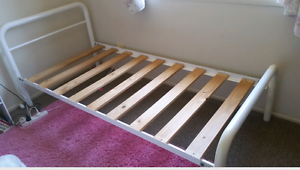 White Tubular Single Bed Ormeau Gold Coast North Preview