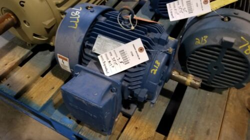 7.5 HP Siemens Electric Motor, 3600 RPM, 213T Frame, TEFC, 460 V, 1.15 S.F., New