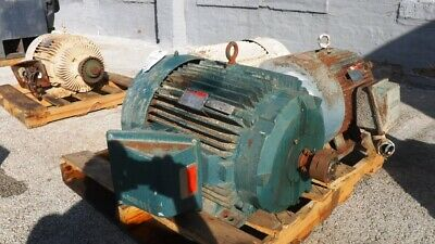 75 Hp Reliance Ac Electric Motor 3600 Rpm Fr 365ts Tefcbb 460 V Eok