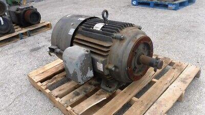 75 Hp Baldor Ac Electric Motor 1800 Rpm Fr 365tc Teaobb 230460 V Eok