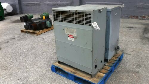 93 KVA Federal Pacific Transformer, 460 V Primary, 460Y/266 V Secondary, Dry, EO