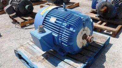 10050 Hp Reliance Ac Electric Motor 18003600 Rpm Fr 405ts Tefcbb 460 V Eok