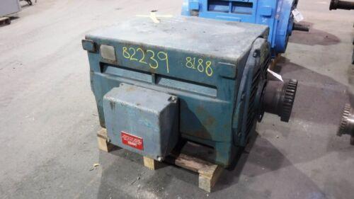 350 HP General Electric AC Electric Motor 1200 RPM Fr 8188S DPBB 2300 V EOK