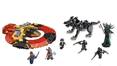 Lego Marvel 76084 Thor Ragnarok Ultimate Battle for Asgard (Perfect Condition).