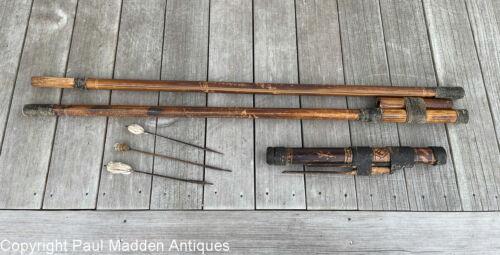Antique Oceanic Bamboo Blow Gun