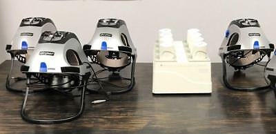Stryker T5 400-610 Personal Protection System W Charger 4 Helmets 4 Batteries