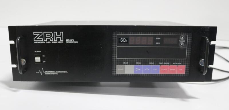 California Analytical Instruments Fuji Electric ZRH Infrared Analyzer