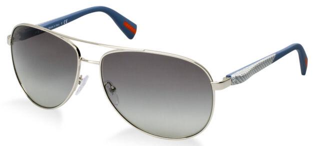 NEW Netex Collection PRADA Mens Aviator Pilot Sunglasses PS 51OS 1BC 3M1 SPS 51O