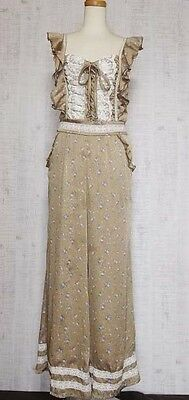 Liz Lisa Overalls Japanese Style Fashion Hime Gyaru Lolita Kawaii Cute