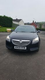 Vauxhall insignia 1.8 sports petrol, estate, service history, MOT 01/2018 , cheap insurance, tax,