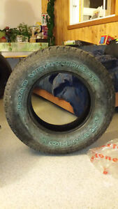 Two Kumho Road Venture AT Tires P265 / 70 R17 113S