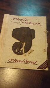 Photo album with elephant $8 obo Cambridge Kitchener Area image 1