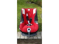 Britax car seat, group birth to 18kg