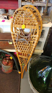 "40"" Wooden Snowshoes"