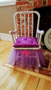 CHILDS PRINCESS ROCKING CHAIR