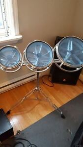 Roto Toms 6'', 8'' and 10''