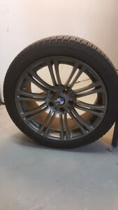 80% New 245/40/R18 Michelin xi3 BMW rims for 5 series