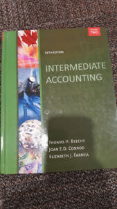 Intermediate Accounting fifth edition