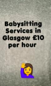 Babysitting Service in Glasgow