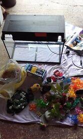 Juwel 60 liter aquarium and accessories
