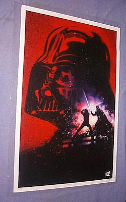 ORIGINAL Star Wars RETURN OF THE JEDI 10th Aniversary PRINTER'S TEST PROOF 27x41