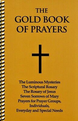 THE GOLD BOOK OF PRAYERS ** Best Selling Devotional Prayer Book ** Spiral