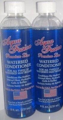 2 Bottles of 8oz Premium Waterbed Conditioner ...