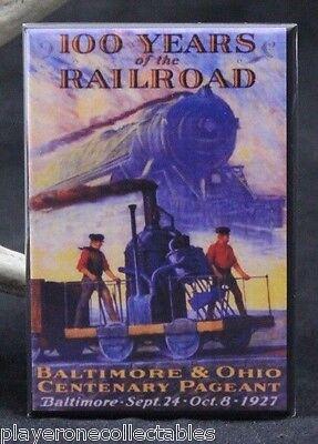Baltimore & Ohio Railroad Vintage Poster 2