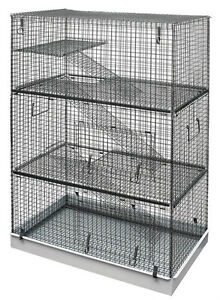 LAZY BONES CHINCHILLA / RAT/ FERRET CAGES 3 TIER FREE POST  EXPRESS POST
