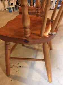 NEW PRICE! GEORGEOUS SET OF 6 SOLID CAPTAIN'S CHAIRS!! Peterborough Peterborough Area image 5