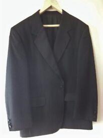 Gent's Black, Single Breasted, Varteks' Dinner Suit 40 inch chest, SHORT 27 inch inside leg