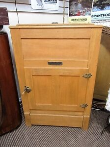 Antique Refinished Ice Box London Ontario image 1