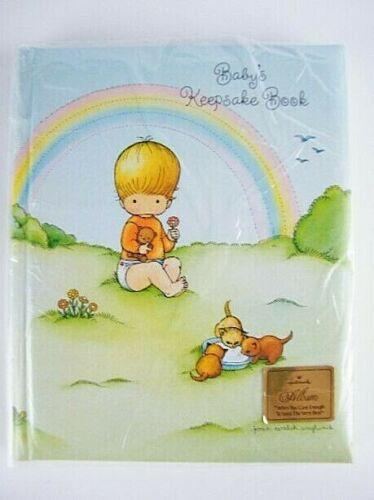 NEW - Vintage 1979 Hallmark BABY Keepsake Book Joan Walsh Anglund Album