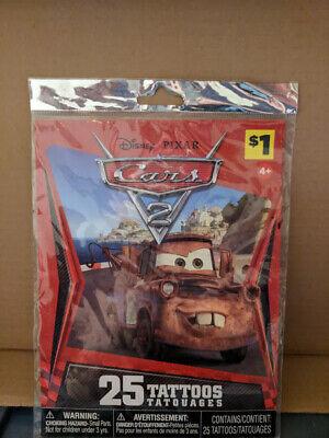 Cars 2 - 25 Tempory Tattoos - Disney Pixar](Pixar Tattoo)