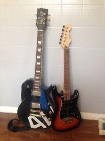 2 Guitars for sale - cheap! Pls read description.